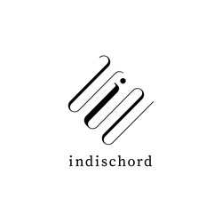 indischord グッズデザイン mask / ticket case