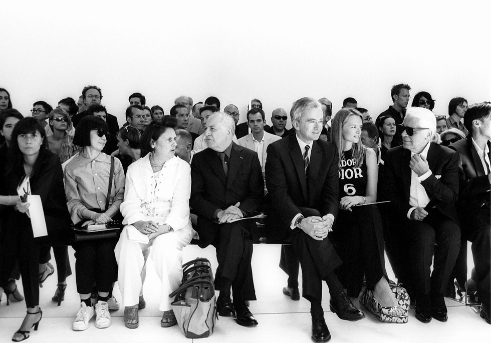 Fashion Front Row at Dior by Hedi Sliman Fashion Show