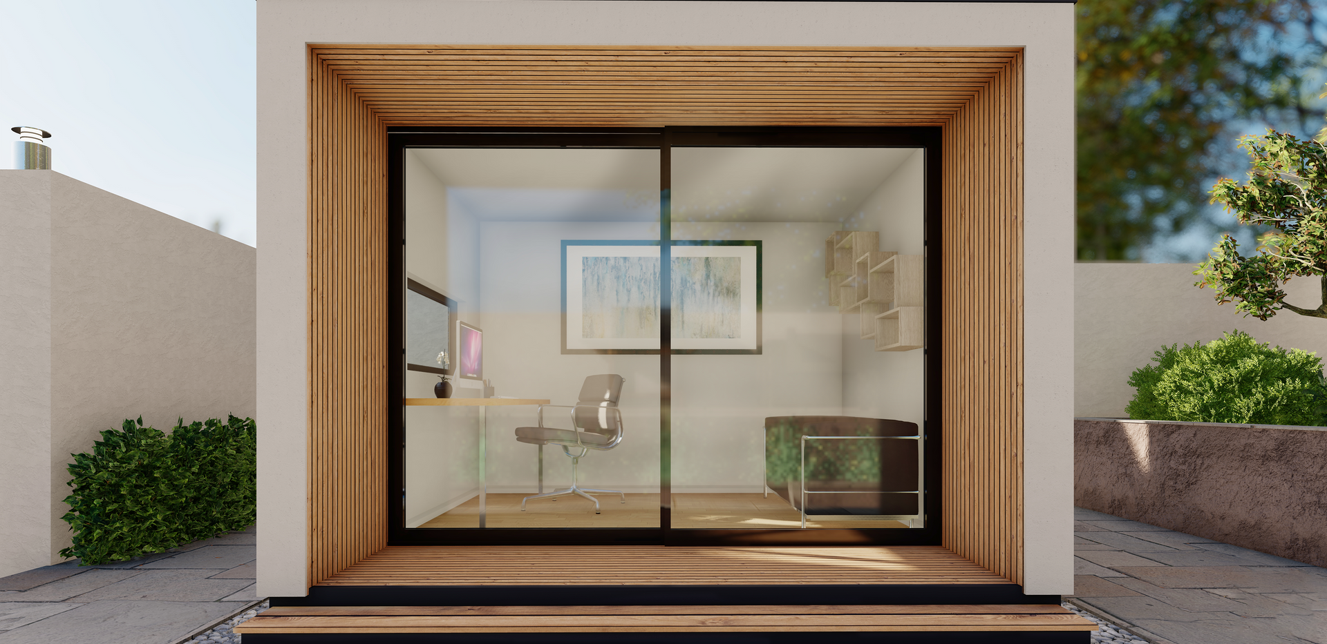 Pod White Render With Cedar.png