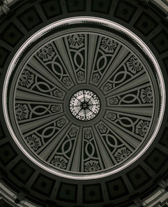 Rotunda at Alabama State Capitol Building in Montgomery