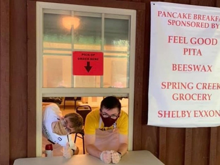 Shelby Iron Works Monthly Pancake Breakfast returns