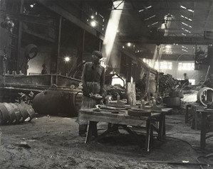 Caldwell Foundry Worker