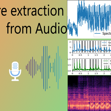 Feature Extraction From Audio