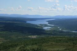 Lake Langsjøen.