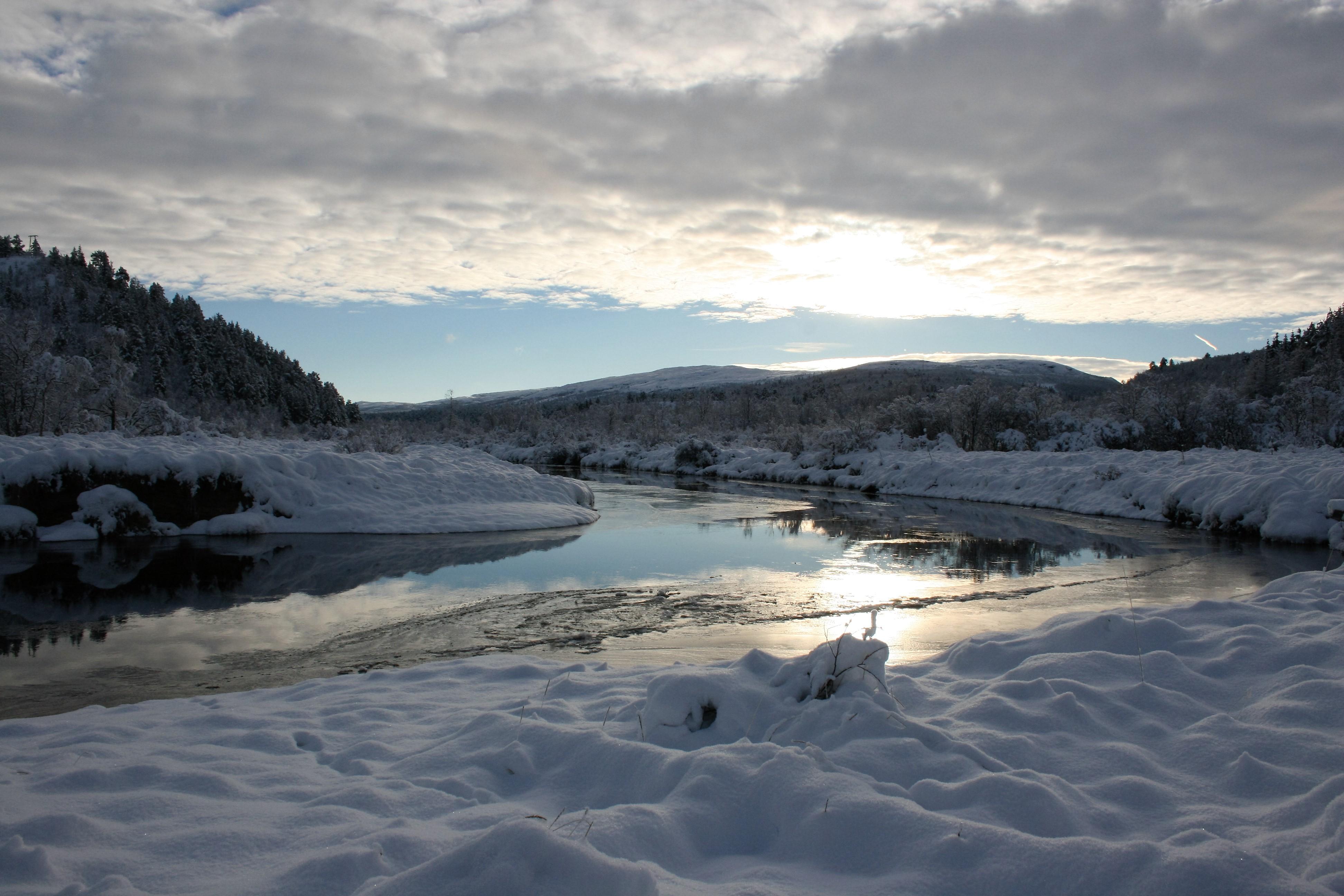 Winter at Hola river