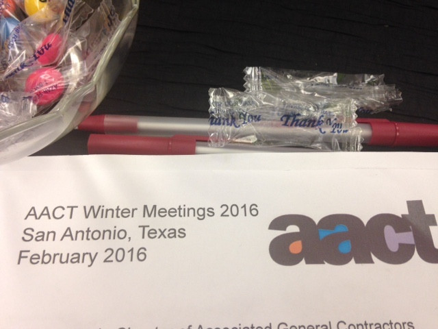 Community Theatre things that keep me busy: AACT meetings, events, board membership