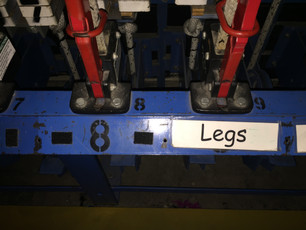 5x5x5 Tech Challenge - Part 5 -Labeling the Fly Rail