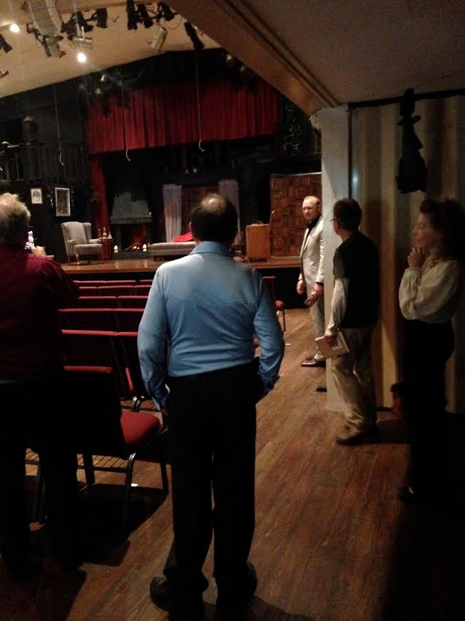 Community Theatre things that keep me busy: hosting AACT events for members, such as the one pictured here: an outing to see a local production of 'Dracula', with a tour and talkback, in Manhattan Beach