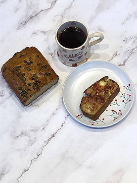 Tahini bread and tea.jpg