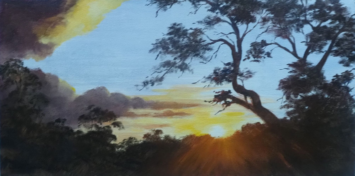 """2021 Janace Holmes Family Memorial Prize – """"Sunset"""" by Glen Southwood"""