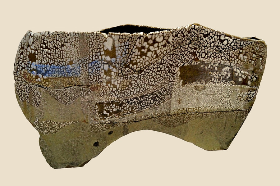 """2018 Art Unlimited Prize For Ceramics Winner: Ros Auld """"The Shape Of Land"""""""