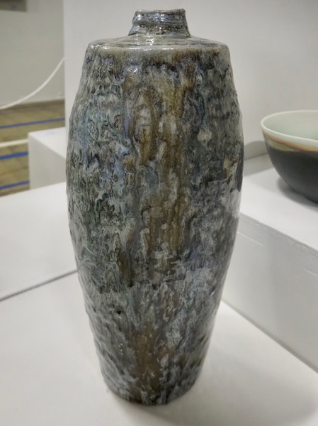 """2021 Highly Commended Ceramics - """"The Blues"""" by Owen Rye"""