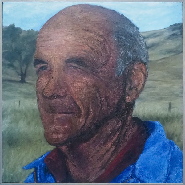 """2021 Highly Commended Hanging Art - Harriet Taylor """"My Grandfather"""""""