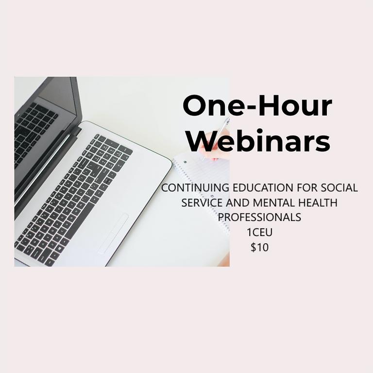 One-Hour Webinars
