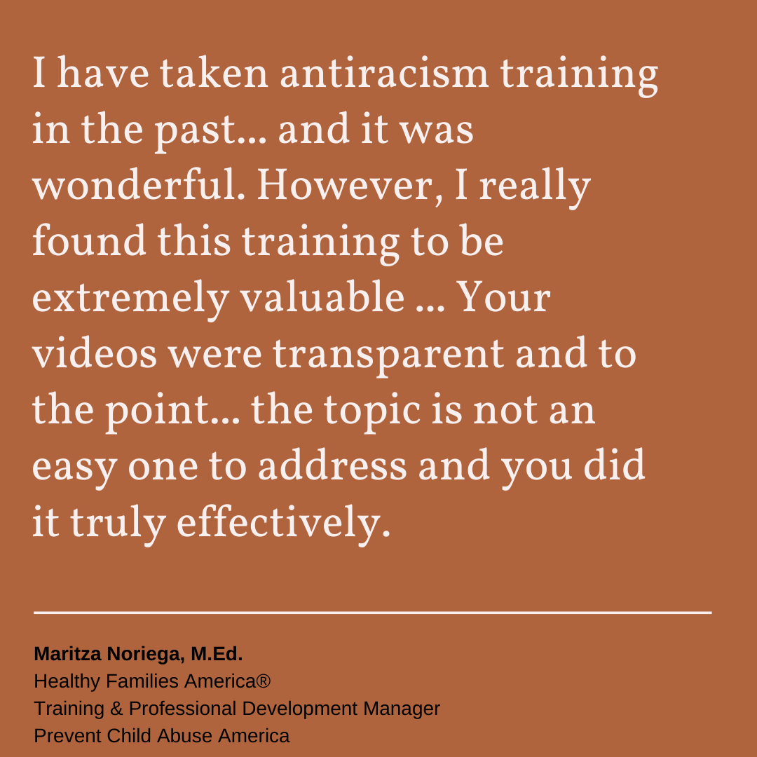 DRIEP antiracism training testimonial 06