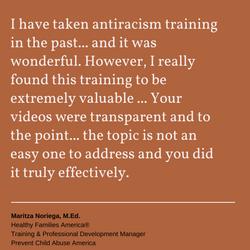 DRIEP antiracism training testimonial 06