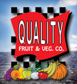 quality fruit veg logo