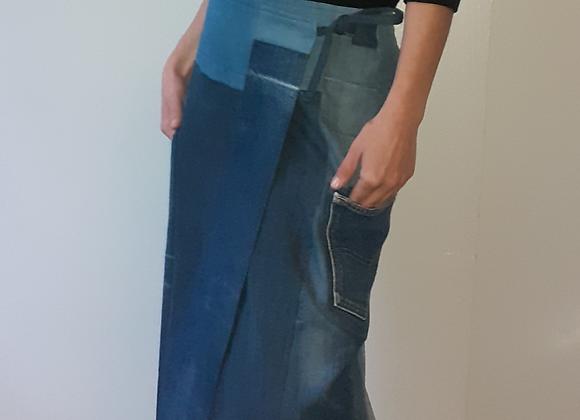 Jupe longue en Jean recyclé