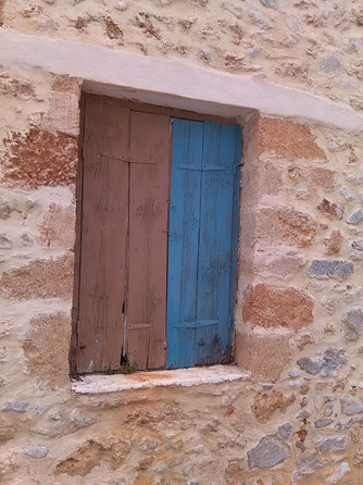 Wall + window Crete