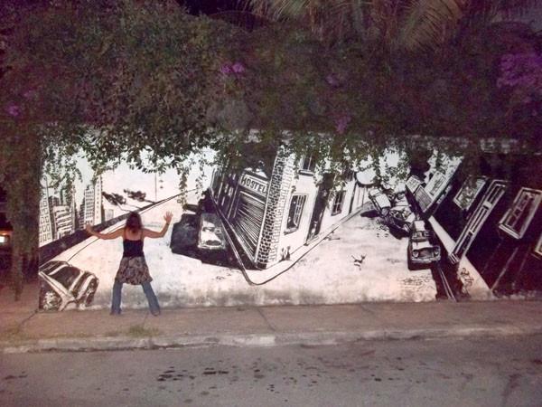 CANCUN grafitti