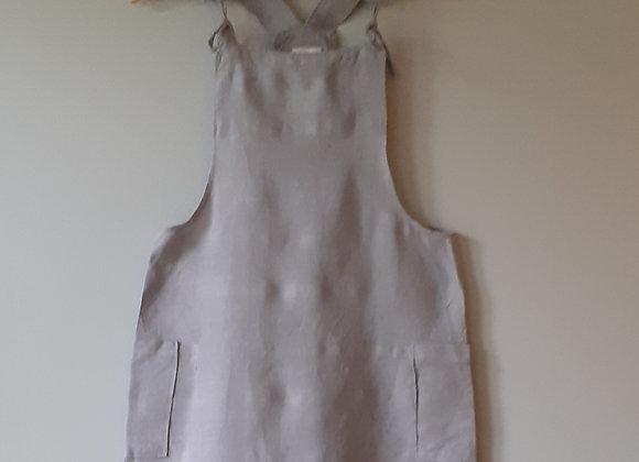 Robe salopette femme, Lin recyclé