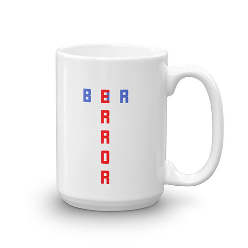 Dataviztypography - Error Bar (color) - Mug