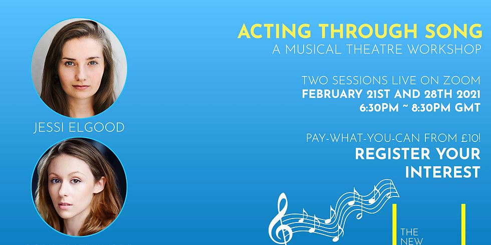 The New Works Playhouse Workshops: Acting Through Song with Jessi Elgood and Courtney Ward