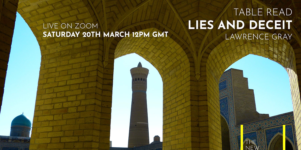 Live Table Read: Lies and Deceit by Lawrence Gray
