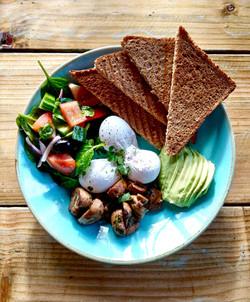 Breakfast sunny hill cafe