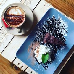 Cappucino and Cake