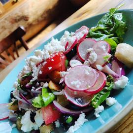 Fattoush salad 🥗🍅🥒 _sunnyhillcafe ...