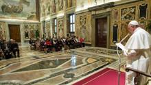 Papa Francisco recebe a ACISJF
