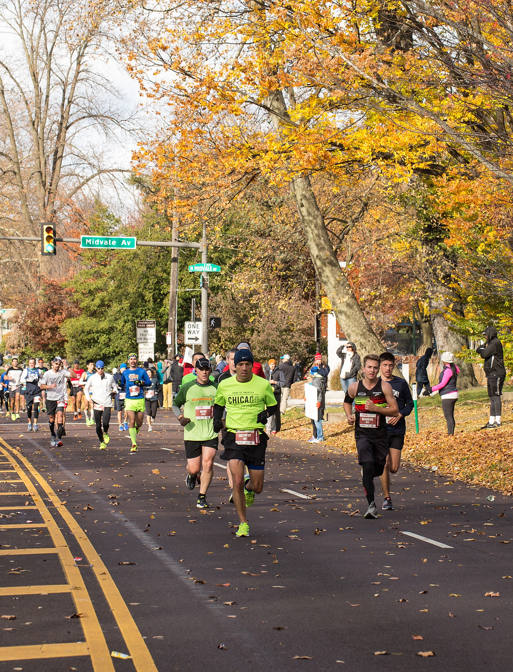 From The Philadelphia Marathon.