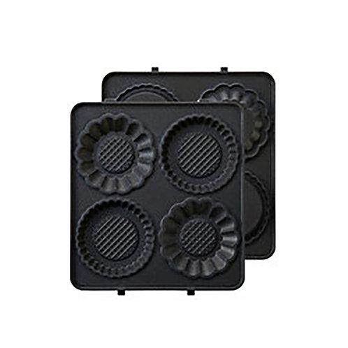 迷你撻皮烤盤 Mini Tart Plates (單片三文治機專用)