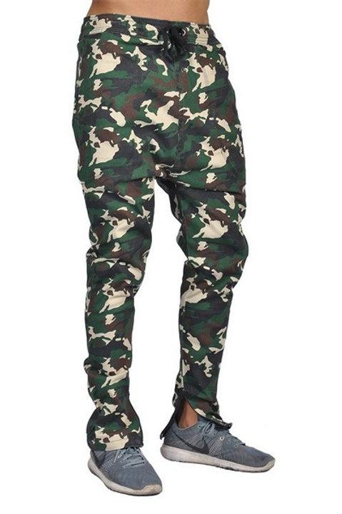 Dirty Robbers Fashion Joggers Zipper Bottom
