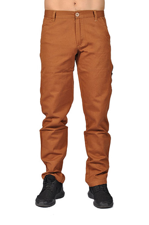Dirty Robbers Mens Fashion Chino Pants with Side Pocket