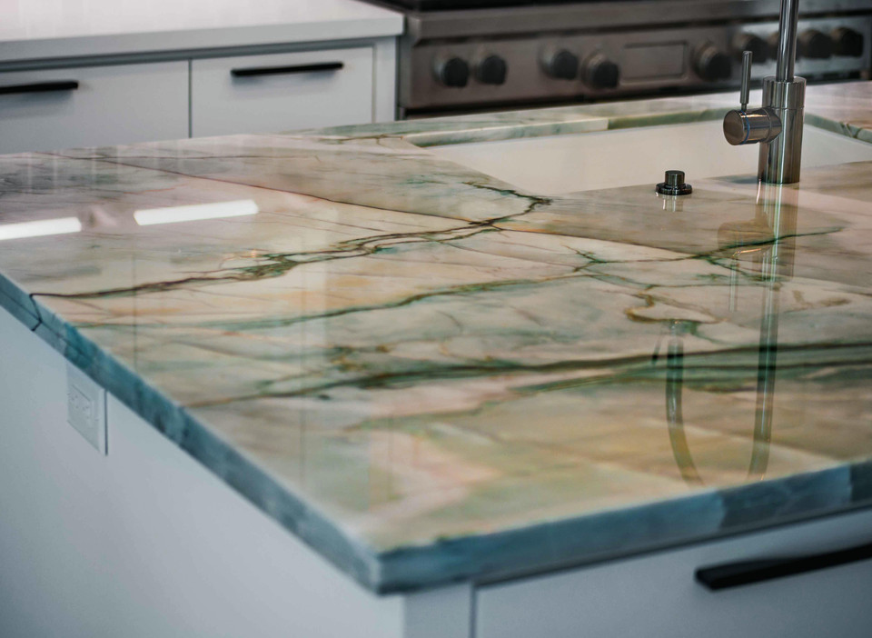 Dream Kitchen - Island Angled
