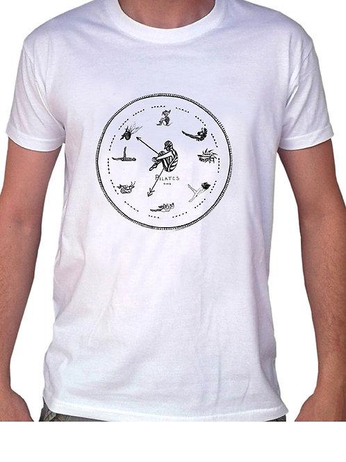T-Shirt Pilates Time pour femme