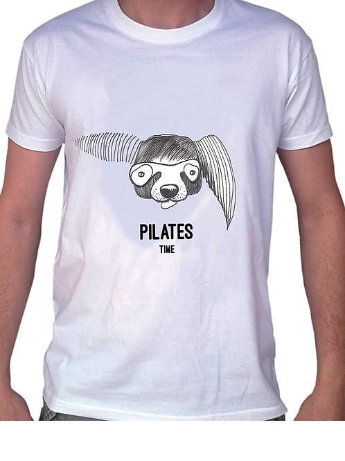 T-shirt chien masqué pour femme