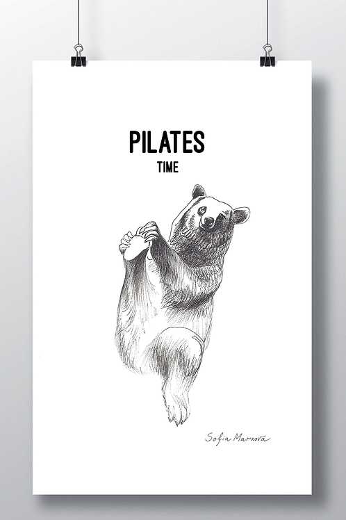 Affiche ours A3