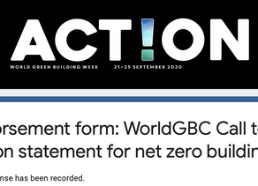 Graytec Global endorses the WGBC's call to action
