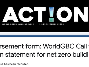 News: Graytec Global endorses the WGBC's call to action