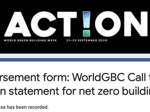 News: Graytec Global endorses the WGBC's call to action
