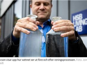 Intervju med Dagens Nyheter