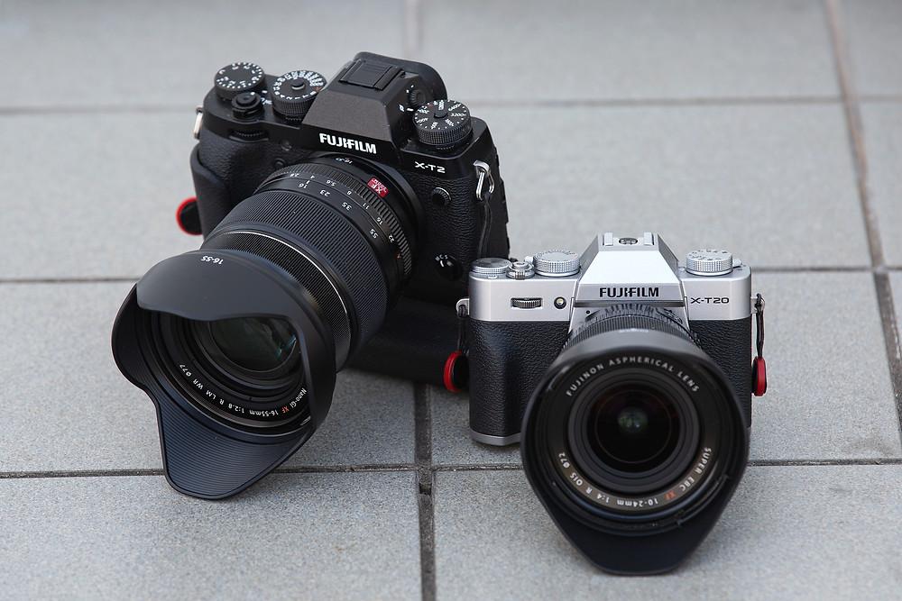Système APSC Fujifilm (X-T2 et X-T20)