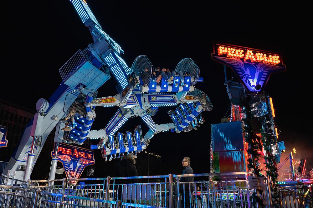 Photo d'action, de nuit, avec capteur plein format !