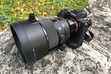 Sony A7M3 ave Sigma 105mm f/1.4