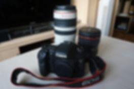 Canon EOS 7D avec objectifs de la série L