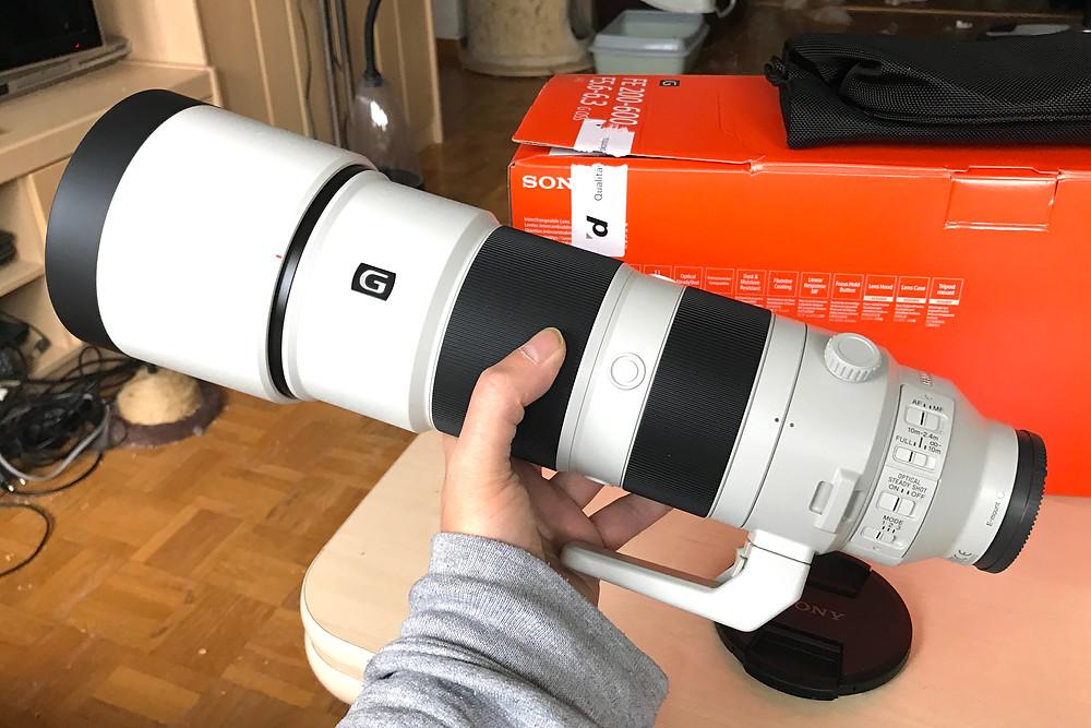 Sony FE 200-600mm f/5-6.3 G OSS (Plein Format)