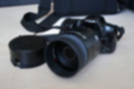 Minolta Dynax 500Si avec 500mm f/8